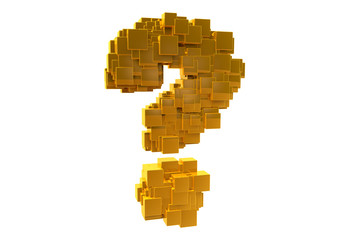 Golden Random Question Mark
