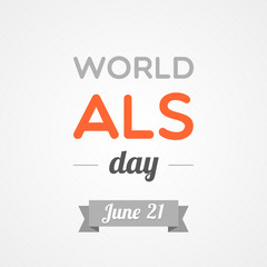 World ALS day