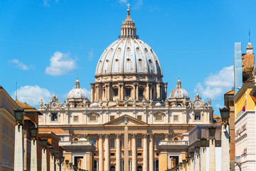 St. Peter's cathedral in Rome