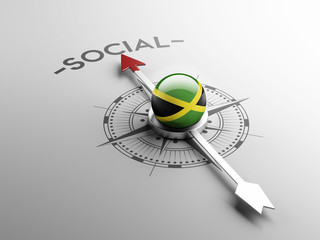 Jamaica Social Concept