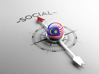 Malaysia Social Concept