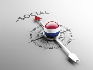 Netherlands Social Concept