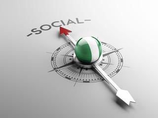 Nigeria Social Concept