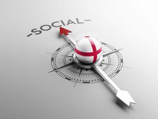 England Social Concept