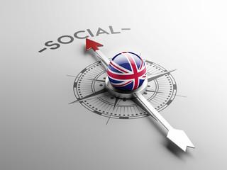 United Kingdom Social Concept