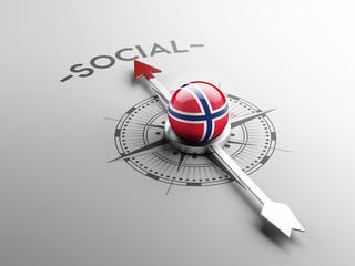 Norway Social Concept