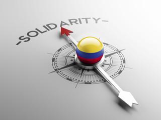 Colombia Solidarity Concept