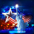 4th of July background - 65864705