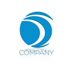 логотип буква d