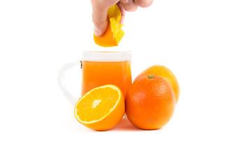 Hand-squeezed   Mandarin orange juice