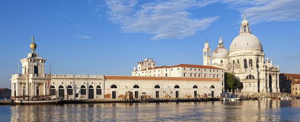 Panoramic view of Basilica di Santa Maria della Salute