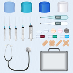 Doctor Medical Accessories Set