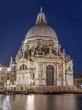 Venice - Santa Maria della Salute church in evening dusk