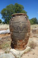 antike Amphore auf Kreta