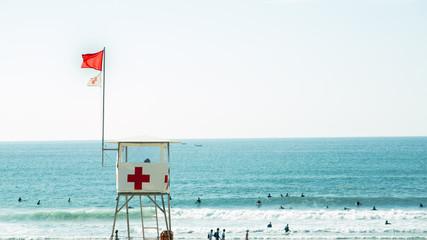 Socorrista, Cruz Roja
