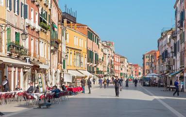 Venice - Street Rio tera Giuseppe Garibaldi