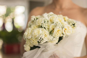 White Wedding Roses