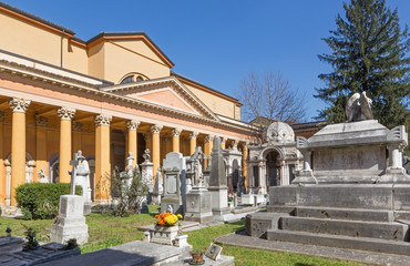 Bologna - Old cemetery (certosa) by St. Girolamo church.