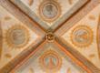 Bologna - Ceiling og nave in church San Girolamo della certosa.