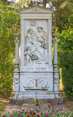 Vienna - Tomb of composer Franz Schubert