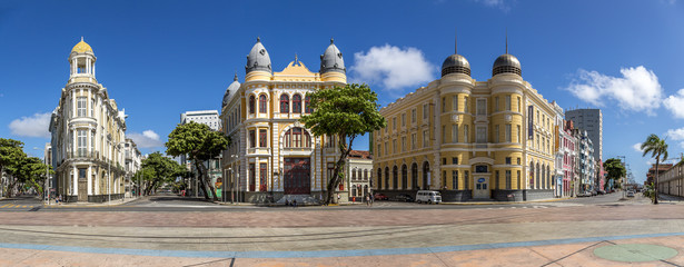 The Architecture of Recife Antigo in PE, Brazil