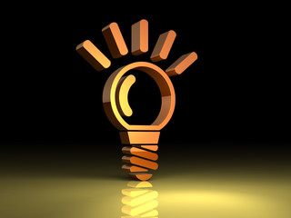 Ideas shining in the darkness