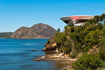 Oscar Niemeyer Niteroi Contemporary Art Museum