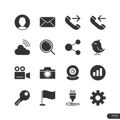 Website &  Mobile Application Icons set