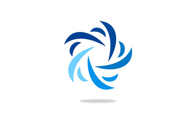 circle decoration logo