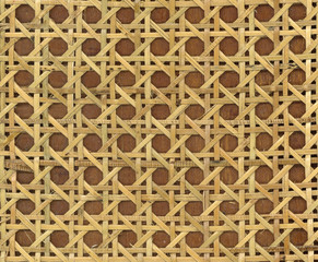 Patterns of weave bamboo in asia.
