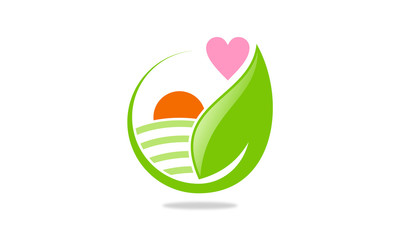 love eco nature logo
