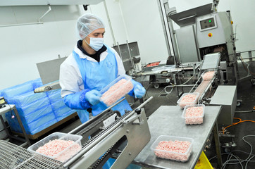 shop for the production of minced meat