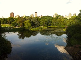 Turtle Pond,Central Park, New York