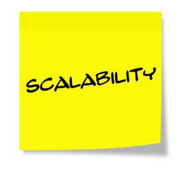 Scalability Sticky Note