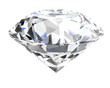 diamond on white background (high resolution 3D image)