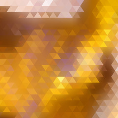Abstract Triangle Geometrical Multicolored.