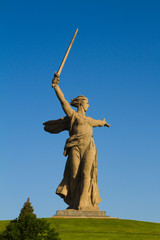 The Motherland Calls - Stock Image