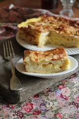 Ачма из лаваша, запеканка с сыром и лавашом