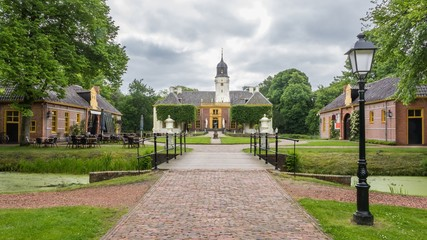 Castle the Fraylemaborg in the Netherlands