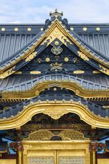 Toshogu Shrine at Ueno Park in Tokyo