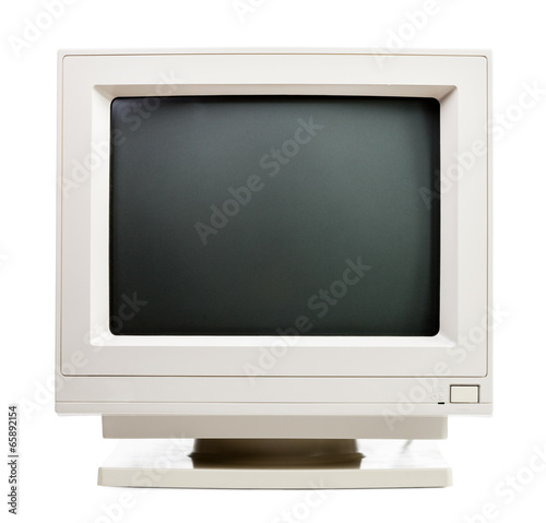 Old computer monitor - 65892154