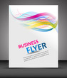 Business flyer template or corporate banner