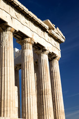 Parthenon on the Acropolis