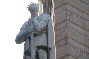 statua di guerriero