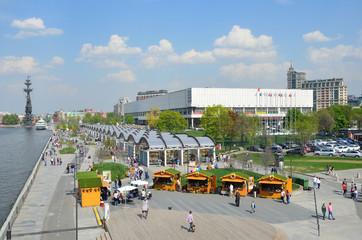 Москва, парк Музеон, ярмарка