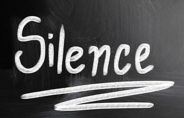 silence concept