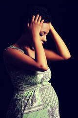 Depression and stress of pregnant woman
