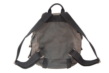 backside of rucksack
