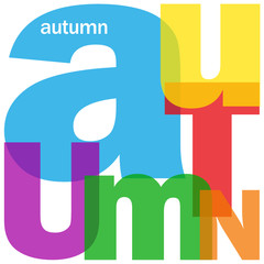 """AUTUMN"" (season spring summer winter calendar year holidays)"