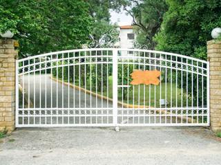 White security Gates